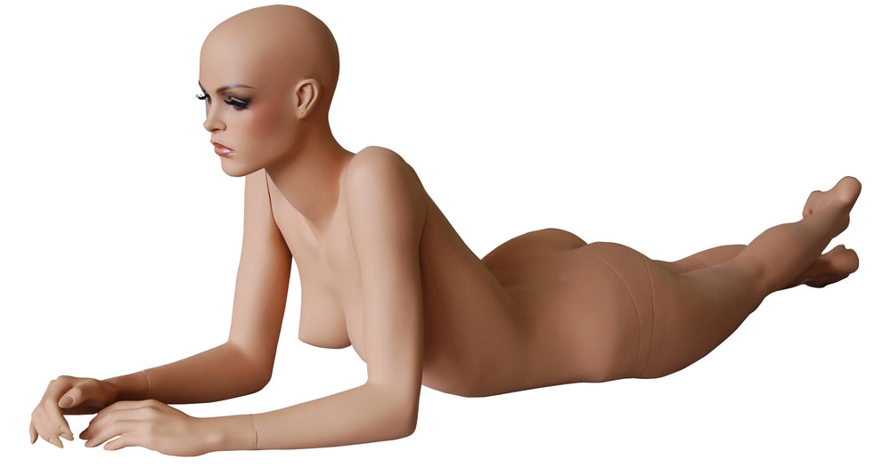 Emma 6: Realistic Female Mannequin in Lying Pose