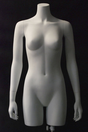Female Half-leg Torso on Stand