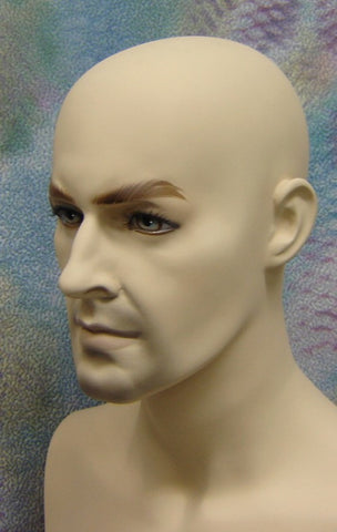 Rugged Male Mannequin with Bendable Arm
