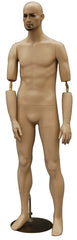 Rugged Male Mannequin with Bendable Arm #2 -- SHORT