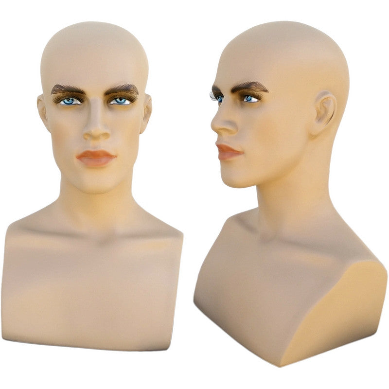 Dan:Male Mannequin Head