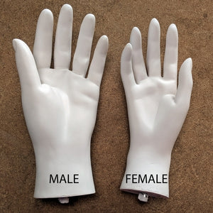Mannequin Replacement Hand: Male
