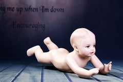 Child Mannequin: Toddler in a Crawling Pose
