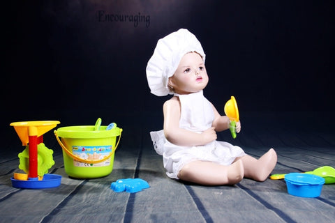 Child Mannequin: Toddler in a Sitting Pose