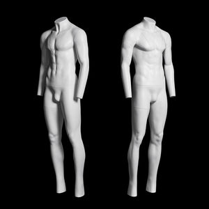 "Male ""Ghost"" Mannequin: V-Neck"