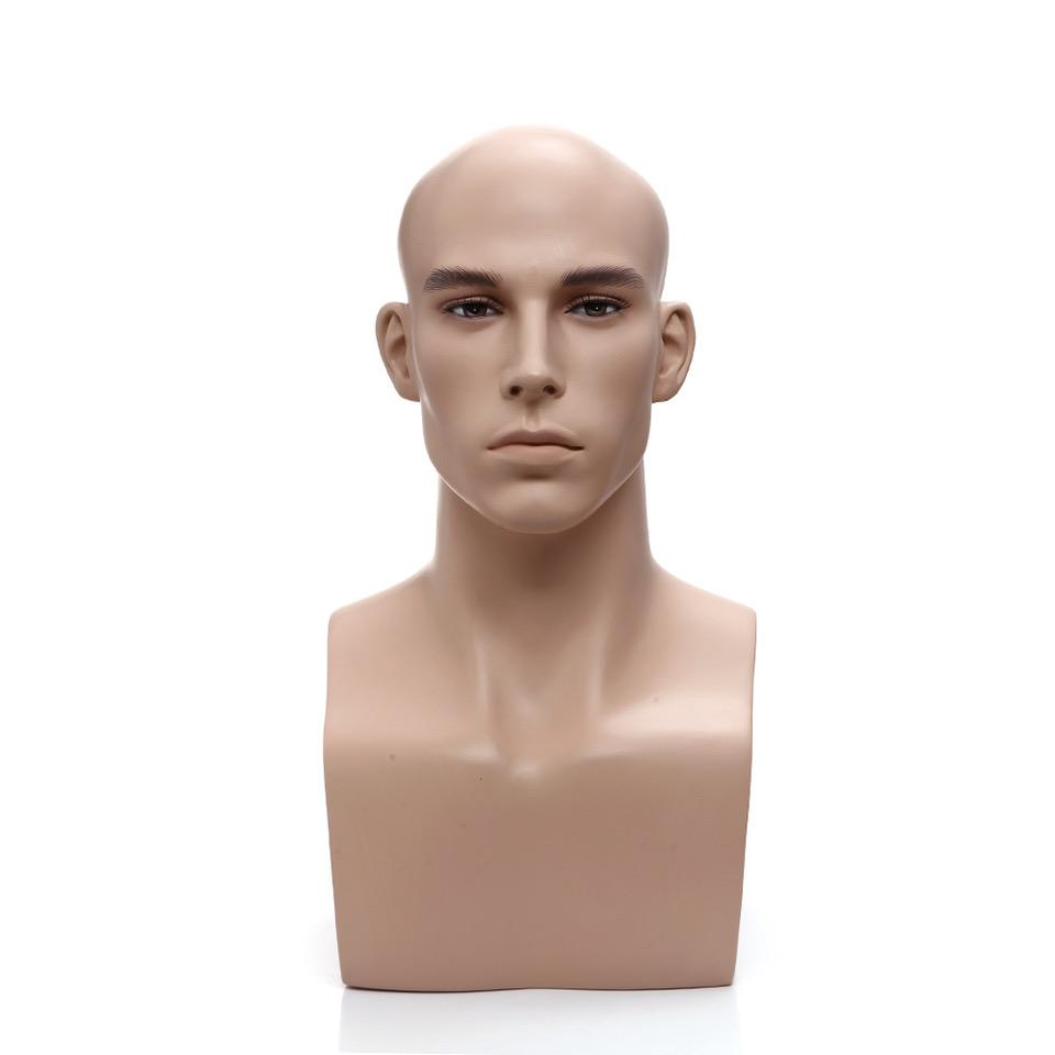 Antoine: Male Mannequin Head