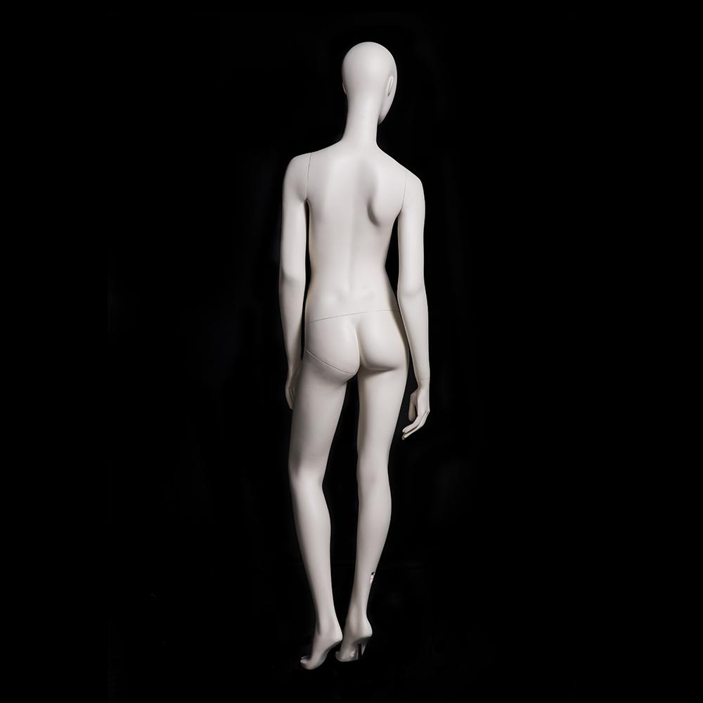 Julia 1: Female Abstract Mannequin in Matte Cream