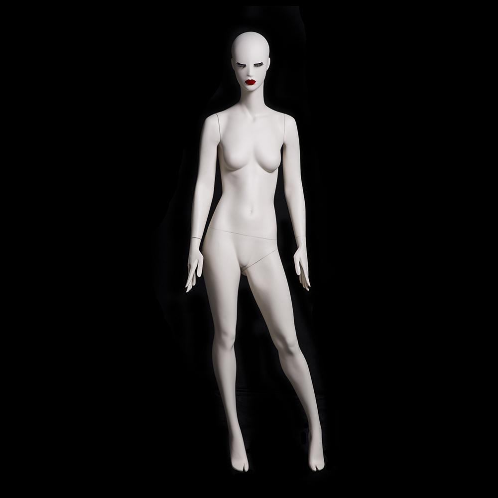 Julia 2: Female Abstract Mannequin in Matte Cream
