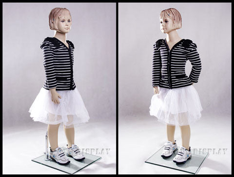 Child Mannequin: 3/4-year old Girl in a Standing Pose