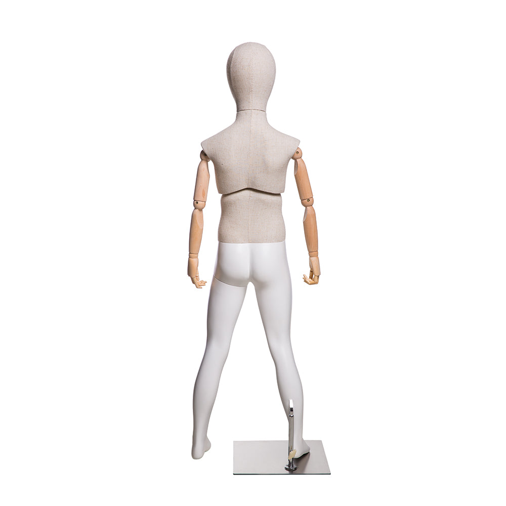 Dion: Male Child Mannequin with Articulated Arms