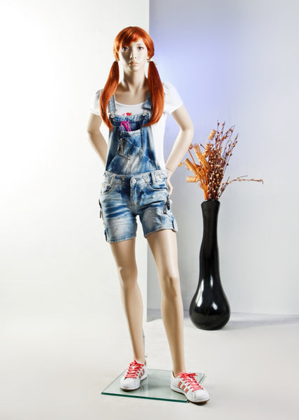 Tabitha: Female Teen Mannequin in Standing Pose