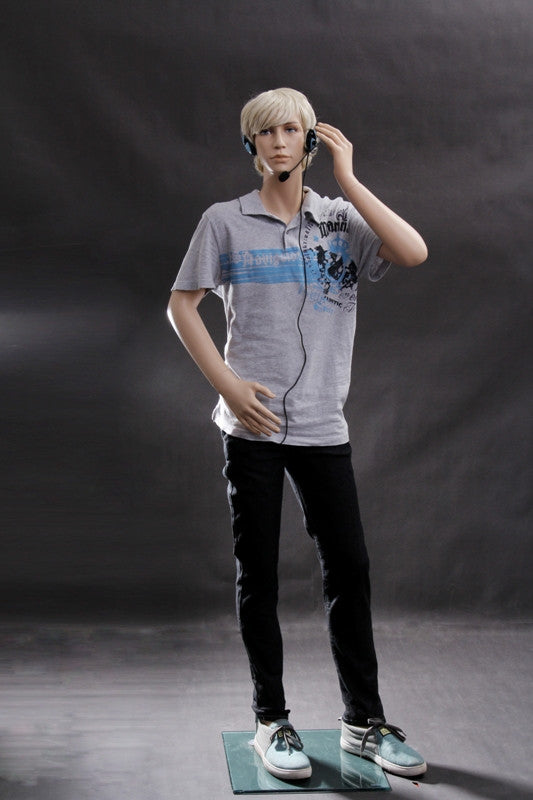 Aidan: Male Teen Mannequin in a Standing Pose