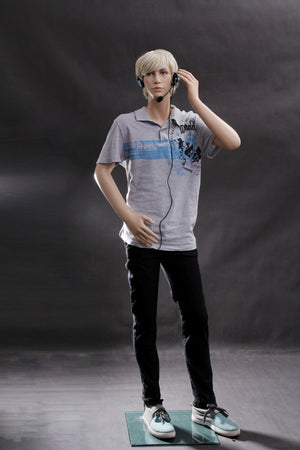 Dylan: Male Teen Mannequin in a Standing Pose