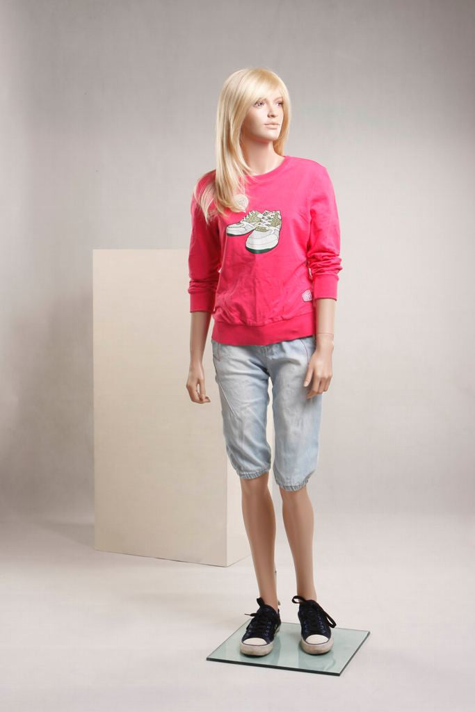 Samantha Female Teen Mannequin In Standing Pose