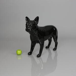 French Bulldog Mannequin: Glossy Black