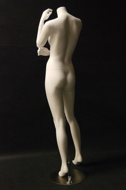 Fifi #1 -- White Headless Female Mannequin