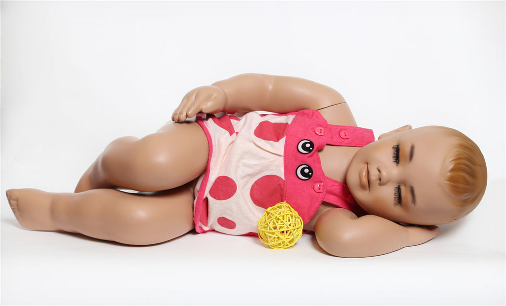 Tiny: Toddler Mannequin in a Sleeping Pose