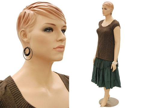 Arlena 1: Plus Size Female Mannequin