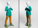 Animated Egghead Youth Mannequin #4