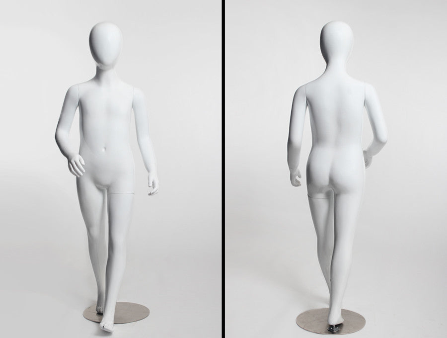 Animated Egghead Youth Mannequin -- Large Sizes