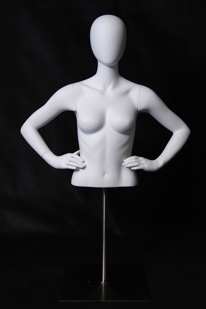 Egghead Female 1/2 Torso with Hands on Hips