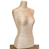 "27"" Female Table Top Body Form: Eco-Friendly Textures"