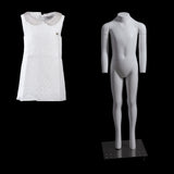 "Size 6 Child ""Ghost"" Mannequin with V-Neck"