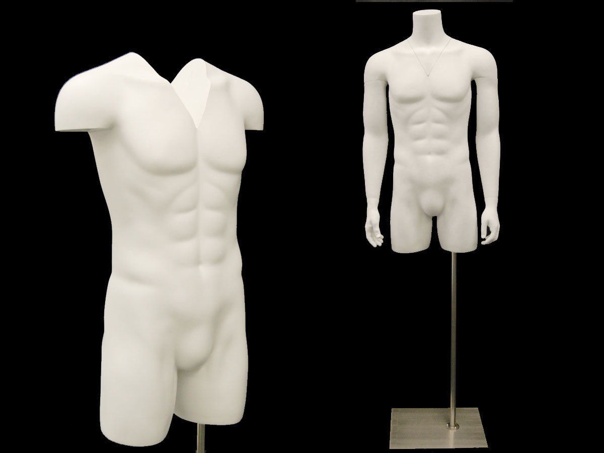 "Male Mannequin Torso for ""Ghost"" Effect"