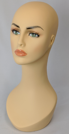 Laila: Female Head with Soft V-Neck