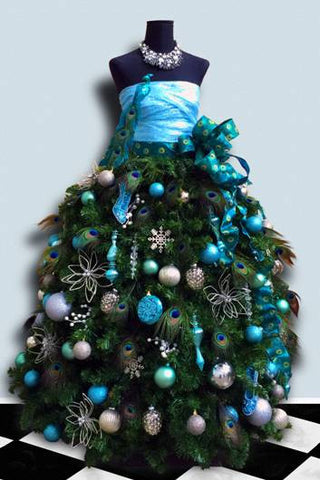 Grand Diva Dress Form Christmas Tree - DIY Tutorial
