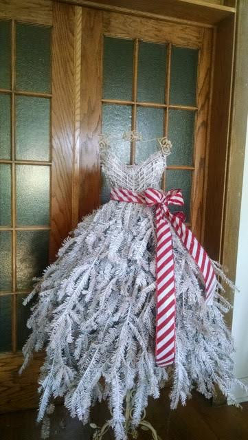Home 187 diy holiday decor dress form christmas tree tutorials 187 diy