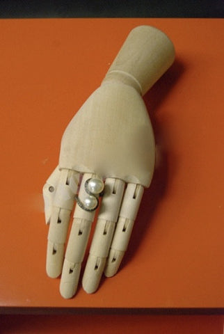 Wooden Articulated Female Hand