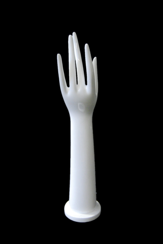 Jewelry Display Hand 2: Glossy White
