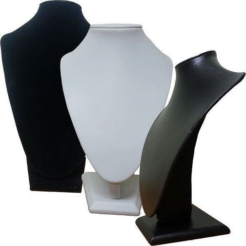 Small/Medium Bust Display: Black Velvet, Single