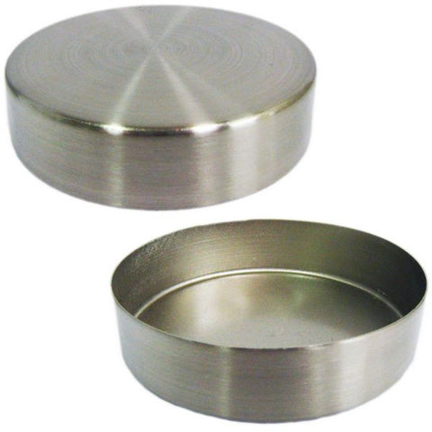 Neck Cap: Round Metal