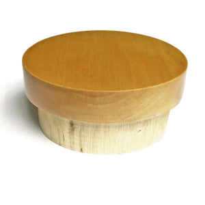 Neck Cap: Wood with Flat Top