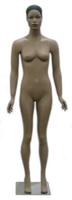 Zora: African American Female Mannequin with Molded Hair