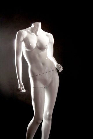 Leesa 1: Headless Female Mannequin in Standing Pose