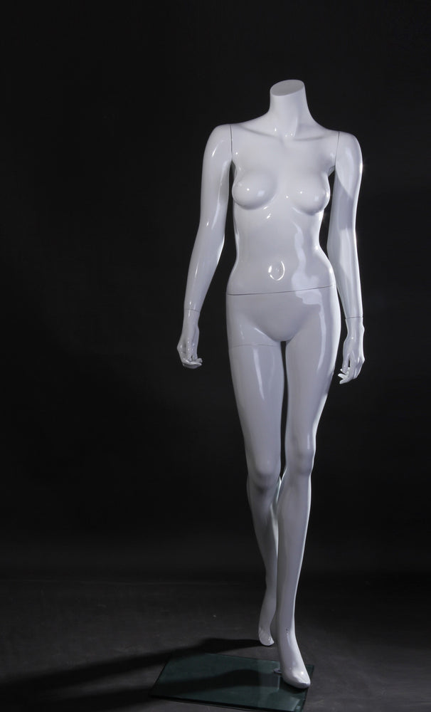 Lisa: Female Headless Mannequin 2: Glossy White