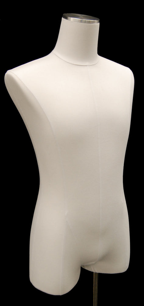 Male Body Form Linen White Jersey: Various Bases