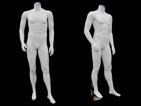 Headless Male Mannequin with Magnetic Arms