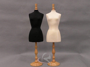 Mini Dress Forms (Set of 2): Tall