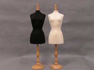 Mini Dress Forms (Set of 2): Short