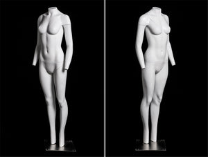 "Female ""Ghost"" Mannequin: V-Neck"