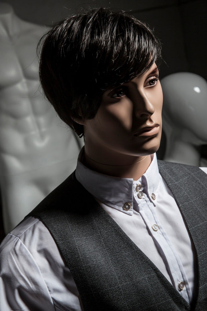 Articulated Realistic Male Mannequin 1: Tan