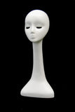 Female Mannequin Head - Elongated Neck