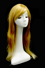 Female Mannequin Head -- White in Long Neck Style