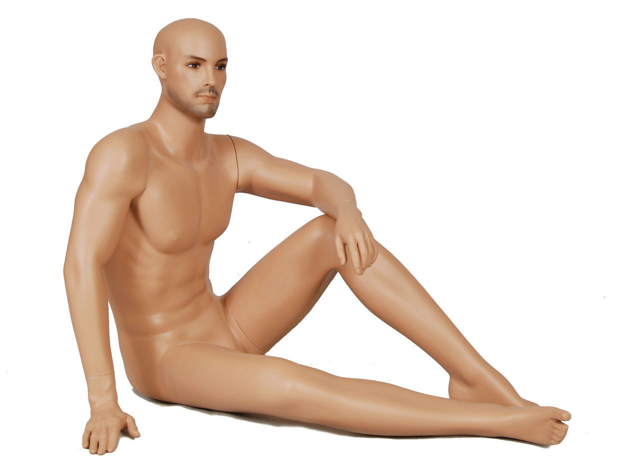 Clinton -- Seated Male Mannequin