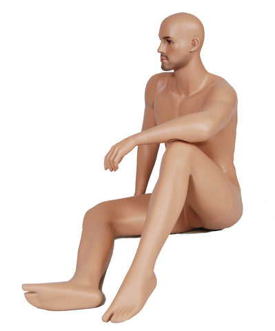 Clinton: Seated Male Mannequin