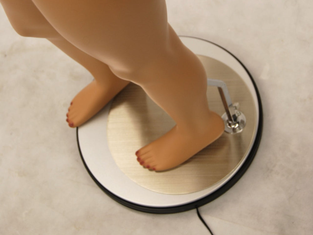 Rotating Electric Base for a Mannequin